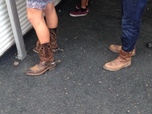 Boots at Bluesfest