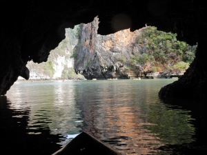 Hong Island cave